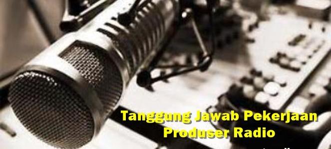 produser radio