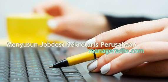 jobdesc sekretaris