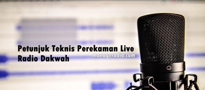 rekaman live mr