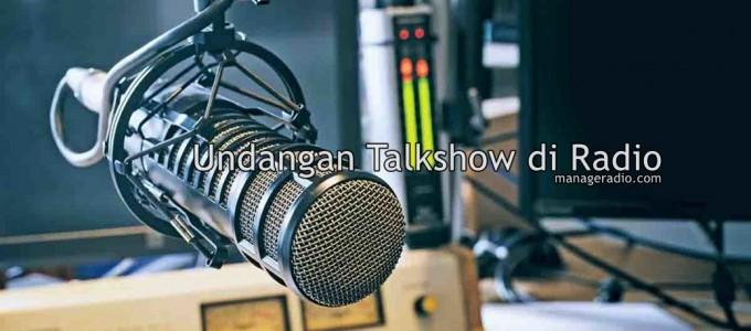 undangan talkshow di radio