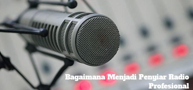 penyiar radio profesional