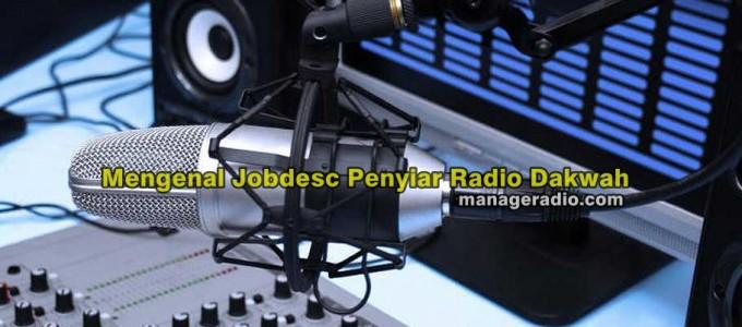 penyiar radio dakwah